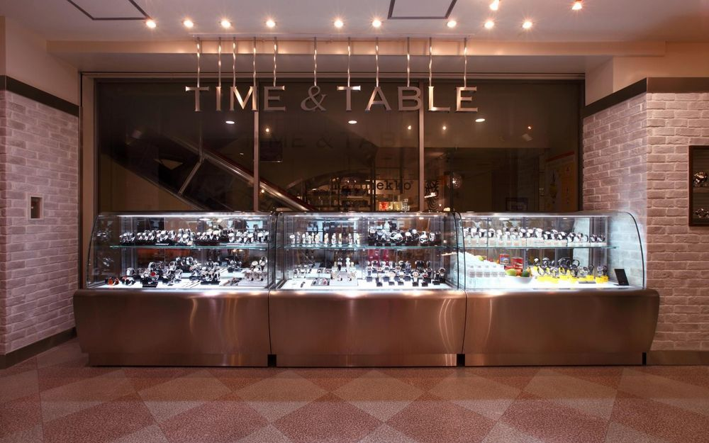 TIME & TABLE 京都藤井大丸